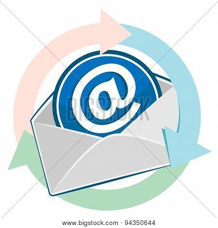 Open Envelope. Email Design