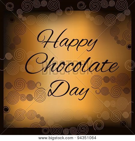 Happy chocolate day.