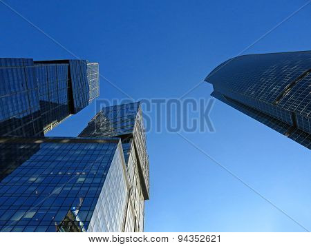 Buildings of Moscow City complex