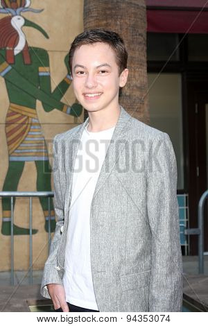 LOS ANGELES - JUN 23:  Hayden Byerly at the