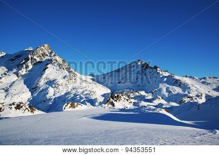 Mountains in Austria. Alps.