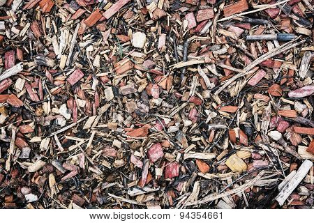 Wood Chips Or Scrap Background