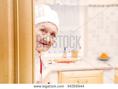 Elderly Cook