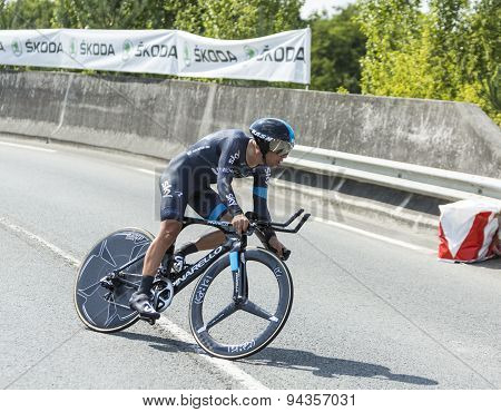 The Cyclist Richie Porte - Tour De France 2014
