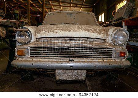Abandoned Vintage Car