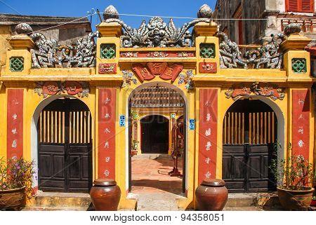 Ancient Building In Hoi An, Vietnam
