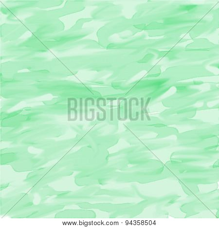 Light Green Abstract Watercolor Background