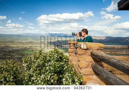 Taking Photos Of Beautiful Nature