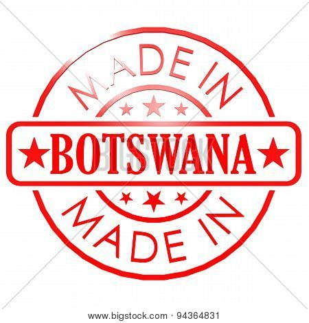 Made In Botswana Red Seal