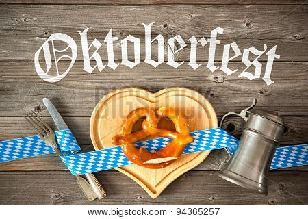 Oktoberfest beer festival template background