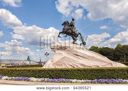 Bronze Horseman - Monument To Peter The Great, Saint Petersburg