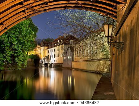 Prague, Old Watermill Under