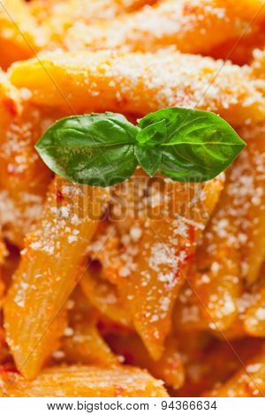 Penne With Cream And Peppers