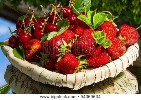 Stawberry And Cherry