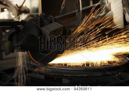 industrial grinder