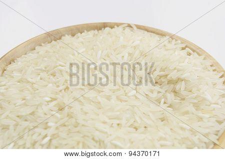 Thai Red Long Grain Jasmine Rice Concept