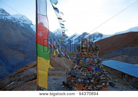 Himalaya prayer flags