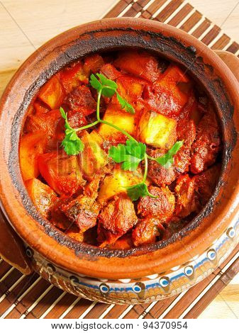 Meat And Vegetable Stew