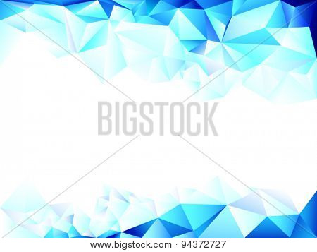 Perfect blue background