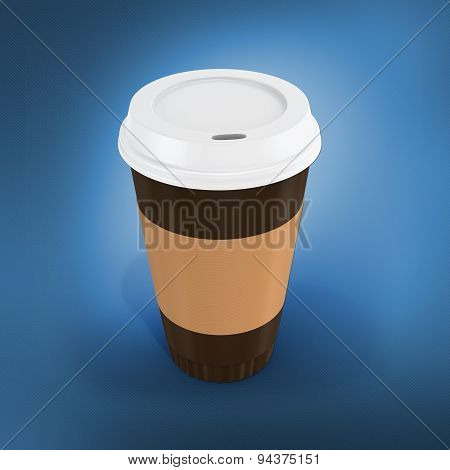 3D  Disposable Coffee Cup