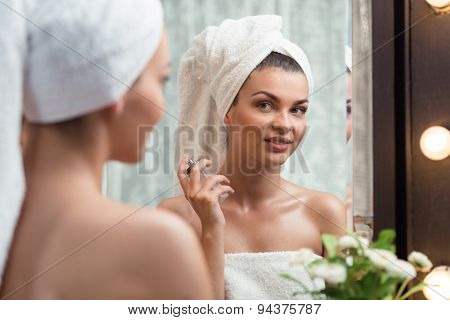 Perfuming After Bath