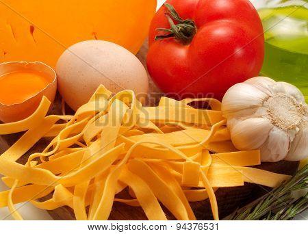 Cooking Tagliatelle