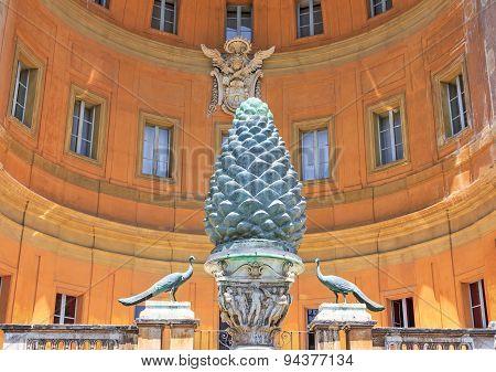 Facade Of The Vatican