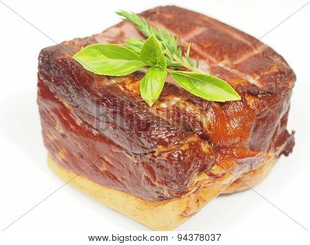 Smoked Pork With Rosemary