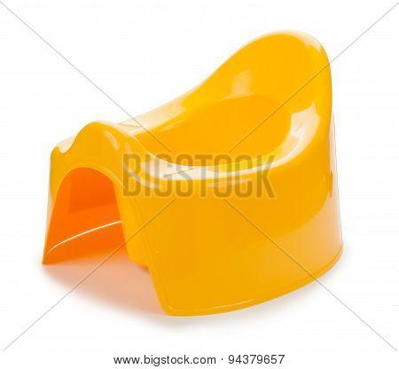 plastic Toilet training pot for small children