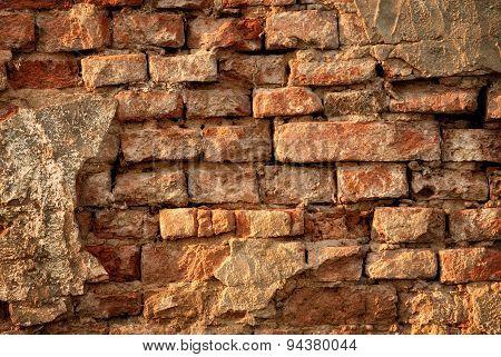 Rustic Vintage Brick Wall
