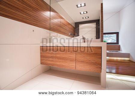 Cozy Elegant Bathroom