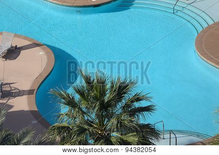 Swimming Pool In Las Vegas, Nevada