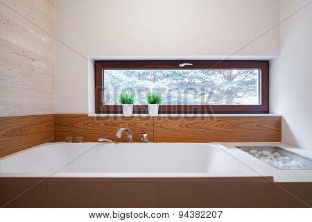 Big Square Bathtub