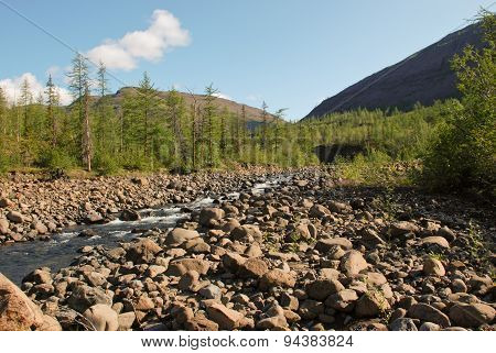River Bucharama.