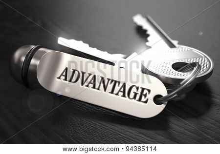 Advantage Concept. Keys with Keyring.