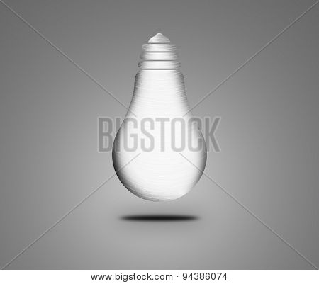 Abstract Metal Bulb