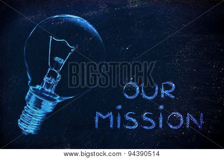 Our Company's Mission: Communicate About Your Brilliant Ideas And Vision