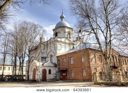 Cathedral of Descent of the Holy Spirit. Veliky Novgorod, Russia