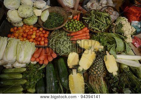 Asia Myanmar Myeik Market