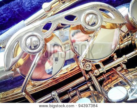 Key Golden Saxophone