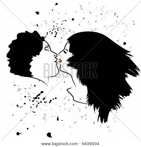 Beijo de grunge