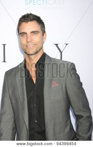LOS ANGELES - JUN 24:  Colin Egglesfield at the