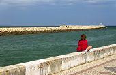 stock photo of lagos  - Harbor of Lagos - JPG