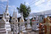 foto of household  - variety shrine of the household god in Thailand - JPG