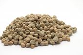 stock photo of horticulture  - horticulture dried pea seeds ready for planting - JPG
