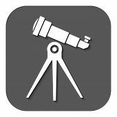 picture of spyglass  - The telescope icon - JPG