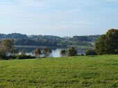 image of bohemia  - view lake Kaclezsky South Bohemia Czech Republic - JPG