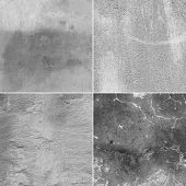 stock photo of concrete  - Fragments of a old concrete wall - JPG