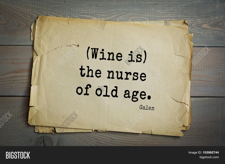 Cold Quotes Top 15 Quotesgalen  Roman Image & Photo  Bigstock