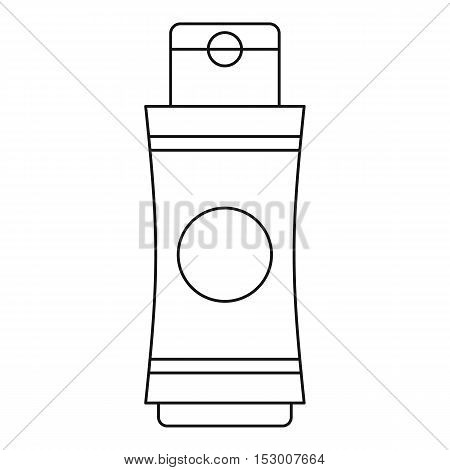 Tube of cream icon. Outline illustration of tube of cream vector icon for web